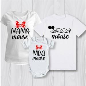 Семейни тениски Мини маус