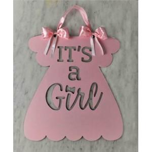 Банер - It's a girl