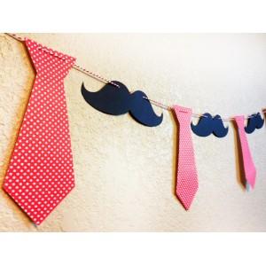 Гирлянд - декорация за стена - вратовръзки