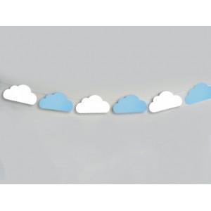 Декорация за стена - Облаци
