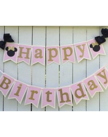 Банер за стена Happy birthday