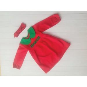 Червена Коледна рокля