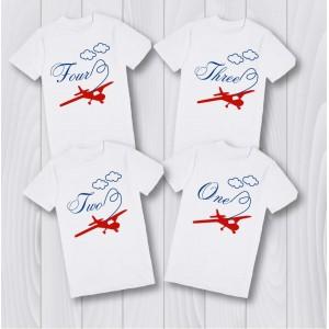 Персонализирани тениски самолет