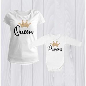 Комплект персонализирани Queen, Princess