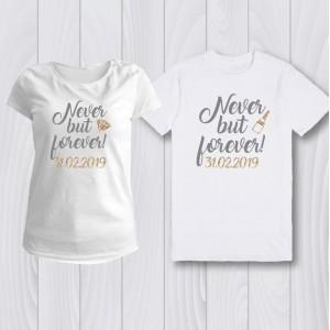 Персонализирани тениски за Сватбено парти