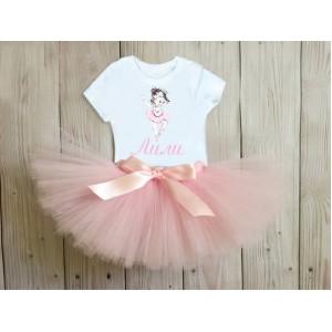 Туту комплект в розово Балерина