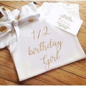 Боди 1/2 birthday girl